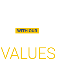 Live R.I.C.H. with our Code of Values
